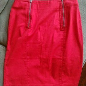 Red H&M Short Skirt